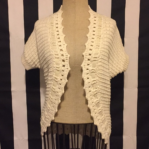 70% off Ann Taylor Sweaters - Ann Taylor cream shrug sweater Size ...