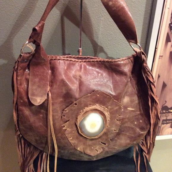 4a8d8b453b SALE❄️Leather boho bag from Poland