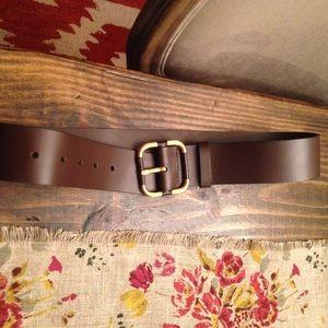 Banana Republic brown leather belt XS