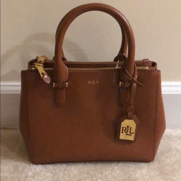 2be4dc0754d7 Lauren Ralph Lauren Handbags - Ralph Lauren Newbury Double ZIP Mini purse