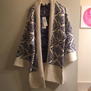 Roxy Open Cardigan size L new with tags