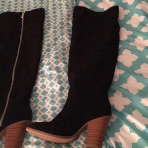 Overtheknee high boots