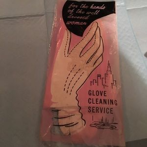 vintage leather glove