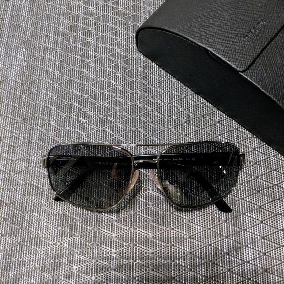 44e3ecee45051 Prada Aviator Sunglasses Men s SPR 58N. M 5a25f80256b2d63a780031a2