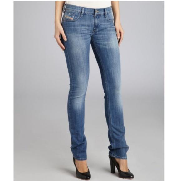 ad3029fbf6 Diesel Denim - Diesel Stretch Denim Livy Skinny Jeans Size 31