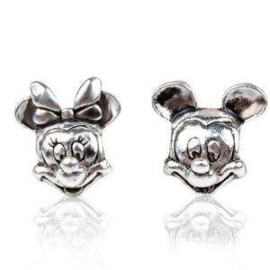 Mickey & Minnie Portrait Charms