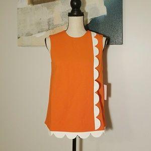 Orange Scallop Victoria Beckham for target