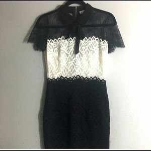 Sandro Lace Mini Dress Sz 2