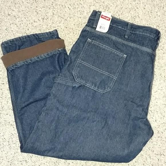3bc9402b Wrangler Jeans | Mens 42x30 Fleecelined Carpenter Jean | Poshmark