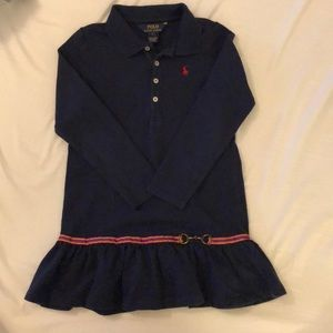 Ralph Lauren navy blue size 6 dress