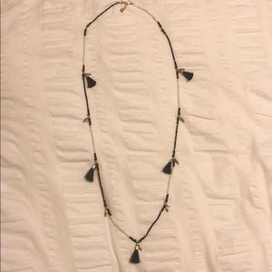 Nakamol multi tassel long necklace
