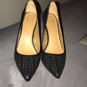 NWOT laser cut heels