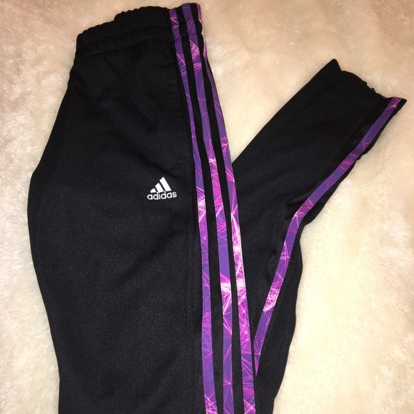 official photos first rate new concept Purple adidas joggers
