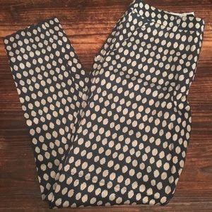 H&M Fun Pattern Trouser Pants!
