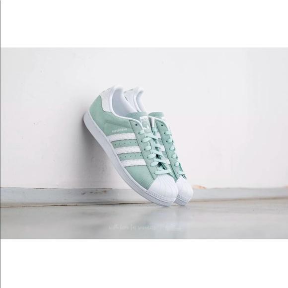 reputable site f8227 ee27f Adidas Superstar Ice Mint Women 8. M 5a26095bb4188e7c8b001a54