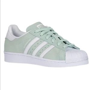 adidas Shoes - Adidas Superstar Ice Mint Women 8