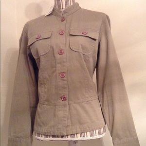 New Van Heusen Khaki Jacket