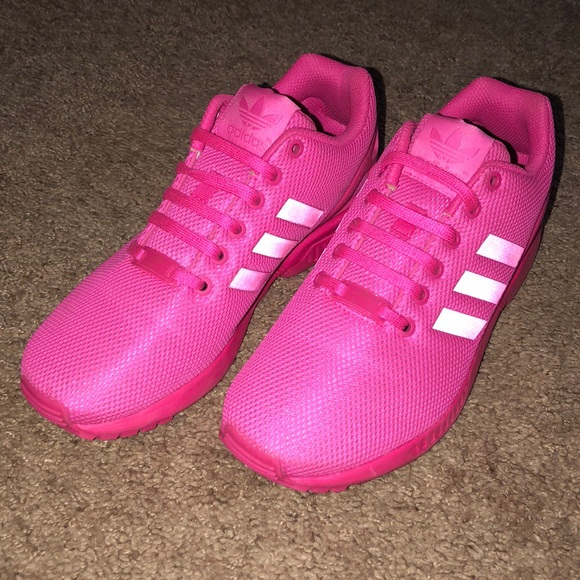 the best attitude 3bf1c 3a895 adidas Shoes - Adidas ZX Flux shoes-Hot Pink