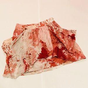 🔴Vivienne Tam patterned skirt