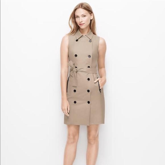 6e4d62b07ad0 Ann Taylor Jackets & Coats | Sleeveless Trench Dress | Poshmark