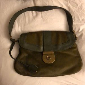J Crew Collection Calf Hair Handbag