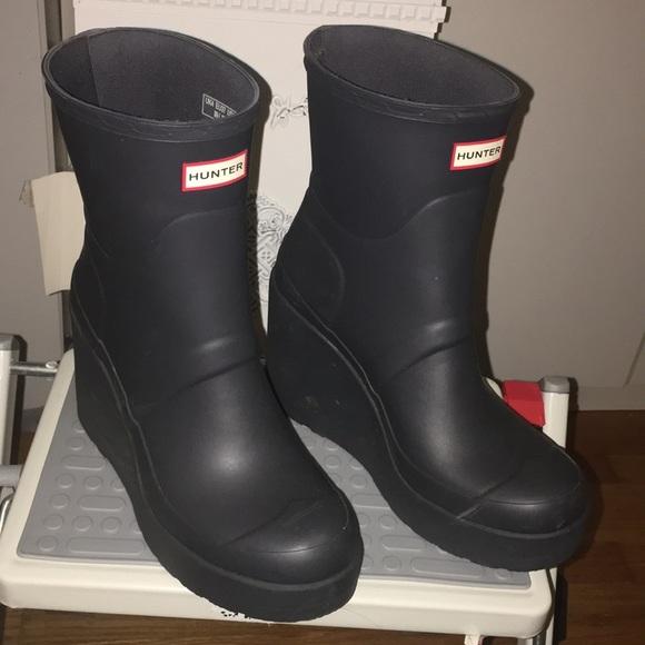 Hunter Shoes | Hunter Platform Rain