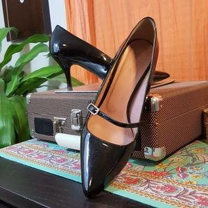 Boden Patent Mary Jane Heels