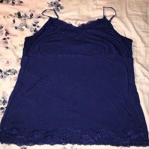 Navy blue cami