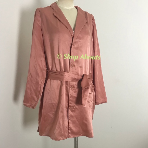 Kate Spade Lux Silk Cotton Short Robe 490dbee5b