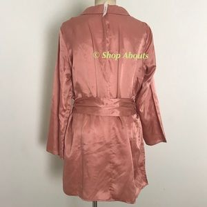 kate spade Intimates   Sleepwear - Kate Spade Lux Silk Cotton Short Robe 8d242db06