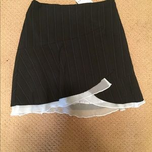 Bebe Skirt Black  NWT  Size 0