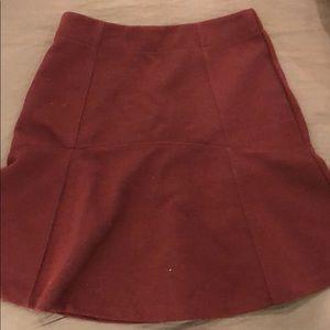 Loft Flare Work Skirt