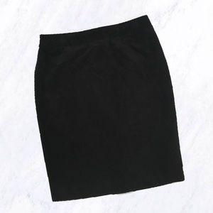 Isaac Mizrahi for Target Velvet Pencil Skirt