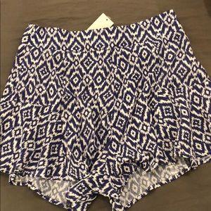 LuLu*s Ikat Print Shorts
