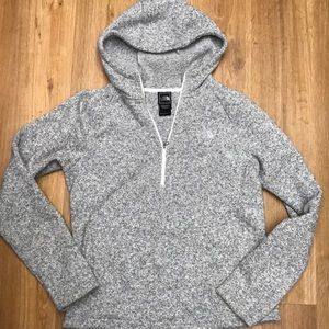 8a3fad0e5 The North Face hooded gray better sweater jacket m