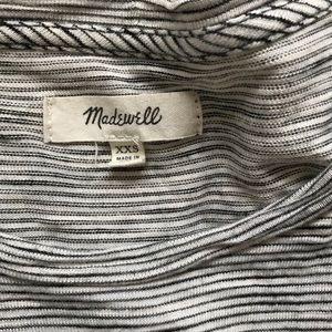 Madewell Anthem Forward Seam Patterned Long Sleeve