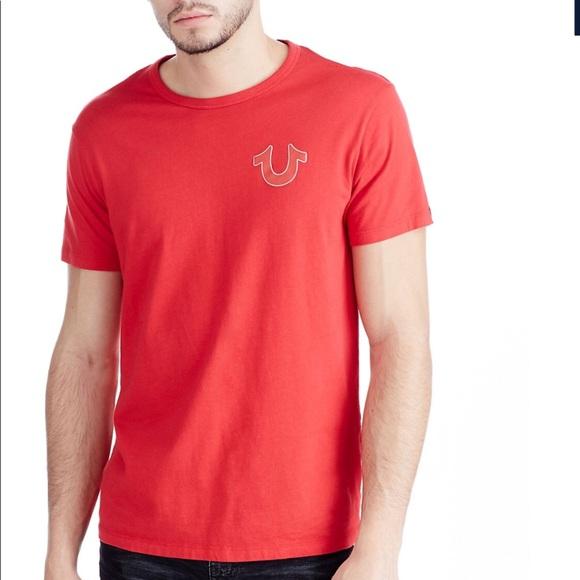 cc882e55 True Religion Shirts | Double Puff Buddha Logo T Shirt Nwt | Poshmark