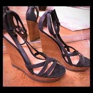Matisse leather wedge sandal