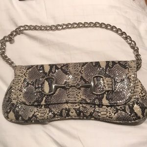 Handbags - Snake print handbag