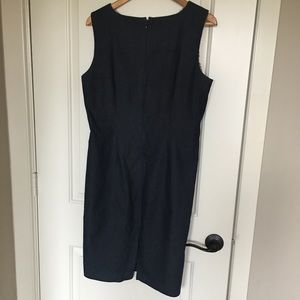 Dresses - Denim sheath dress sz large