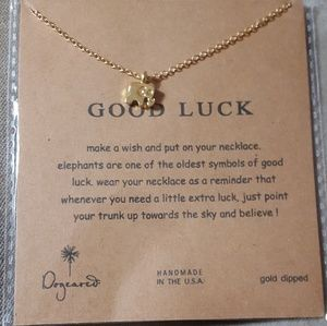 NWT elephant charm necklace