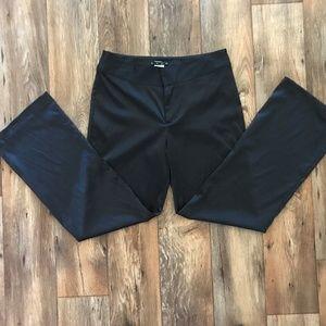 Hype Women Fancy Pant Shining Black Trouser Dress