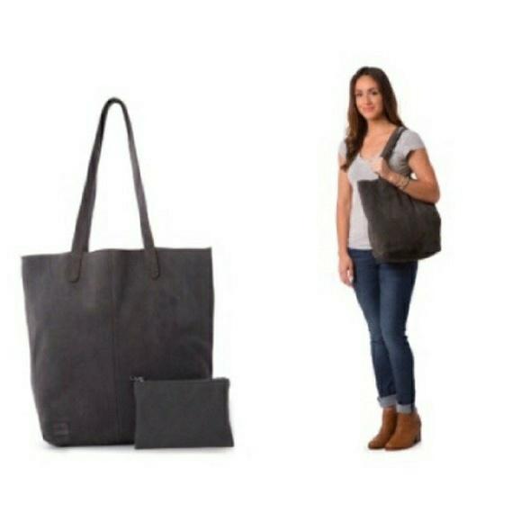 ac5b10192c6 Toms Bags | Soft Suede Cosmopolitan Tote | Poshmark