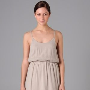 Alice + Olivia grey slip chiffon dress NWT Medium