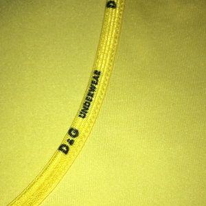 Dolce & Gabbana bright yellow Tee New XS