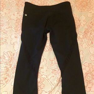 Black Fabletics Capri pants