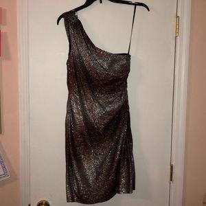 One Strap Formal Dress
