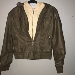 NWOT Leather Jacket