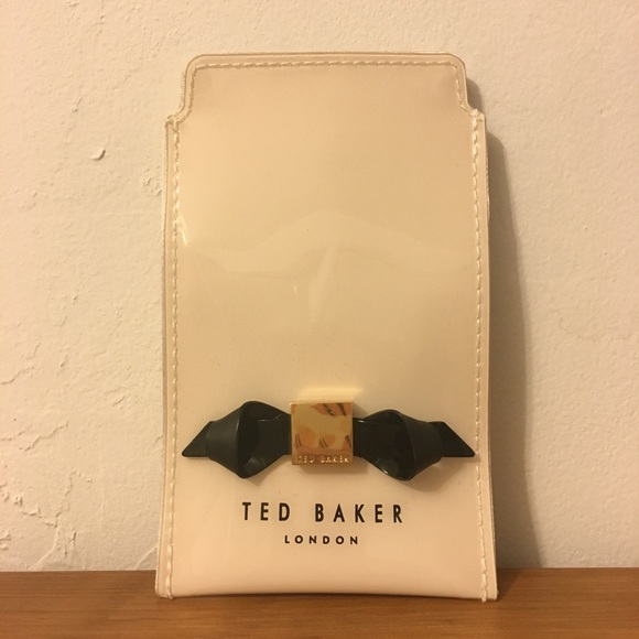 f33611196fa9 NEW Ted Baker Renai Slim Bow Iphone 5 Case Pink