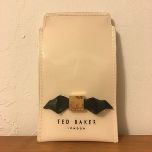NEW Ted Baker Renai Slim Bow Iphone 5 Case Pink